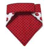 Ladybird Bandana Mini Red