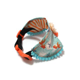 Lucky Goldfish Princess Collar Blue