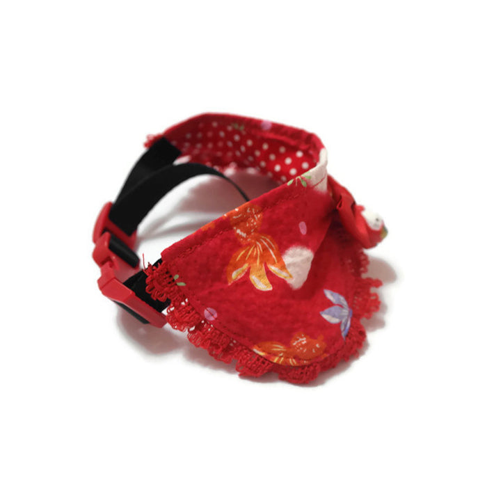Lucky Goldfish Princess Collar Red