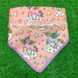 Unicorn Dreams Bandana Peach