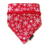 Snowflake Bandana Double Layer Design