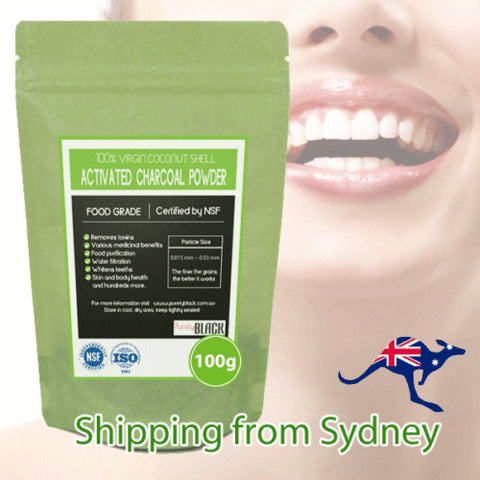 Charcoal Tooth Powder 100G