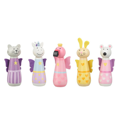 Wooden Animal Skittles - Hetty's Baby Boutique