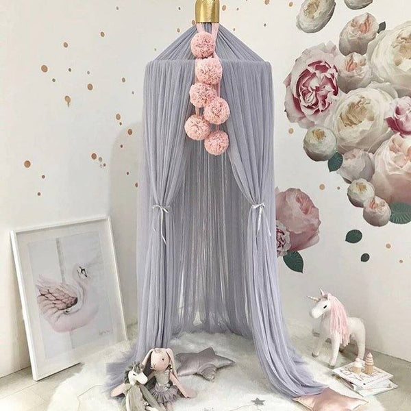 Luxury Canopy & Pom Pom Sets - Hetty's Baby Boutique
