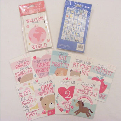 Boy & Girl Memorable Moments Cards - Hetty's Baby Boutique