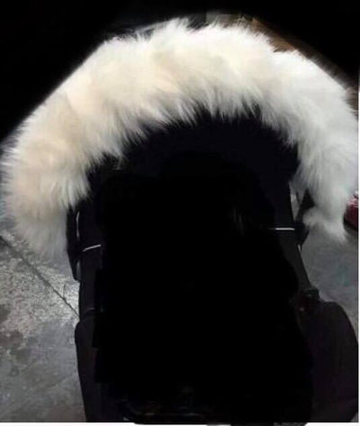 Pram Fur Hood Covers - Hetty's Baby Boutique