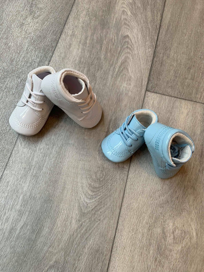 Soft Sole Boys Booties - Carlos - Hetty's Baby Boutique