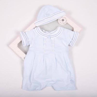 Rocking Horse Sailor Set with Hat - Hetty's Baby Boutique