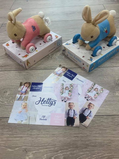 Flopsy Rabbit Pull along Toy - Hetty's Baby Boutique