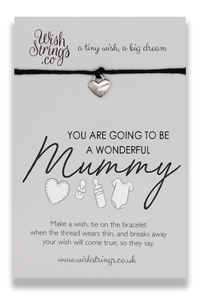 Mummy Wish String Bracelet - Hetty's Baby Boutique