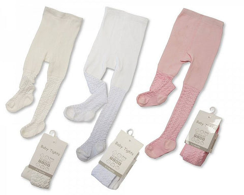 Premature Baby Lace Tights - Hetty's Baby Boutique