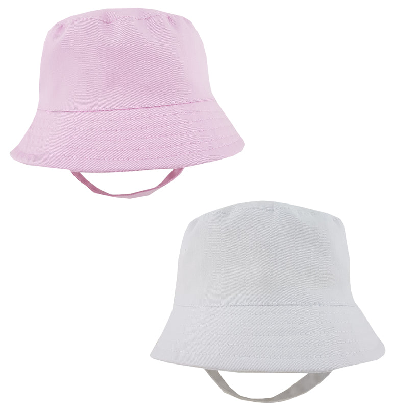 Sun Bucket Hat with Velcro - Hetty's Baby Boutique