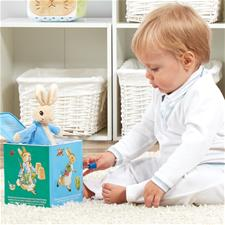 Peter Rabbit Jack in the box - Hetty's Baby Boutique