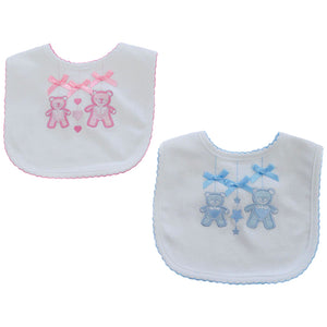 Teddy Bear Bib - Hetty's Baby Boutique