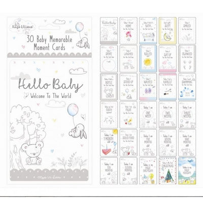 Unisex Memorable Moments Cards - Hetty's Baby Boutique