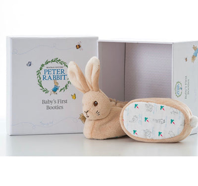 Peter Rabbit Baby's First Booties - Hetty's Baby Boutique