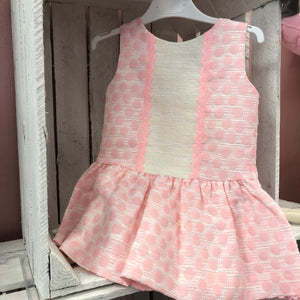 Boutique Pink Bigger Girl Dress - Hetty's Baby Boutique