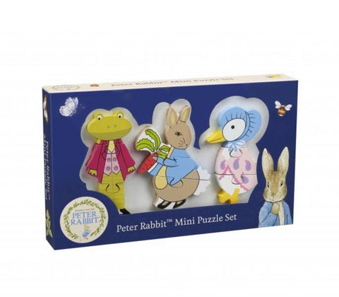 Peter rabbit Mini puzzle set - Hetty's Baby Boutique
