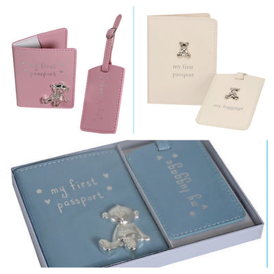 Passport cover & Tags set - Hetty's Baby Boutique