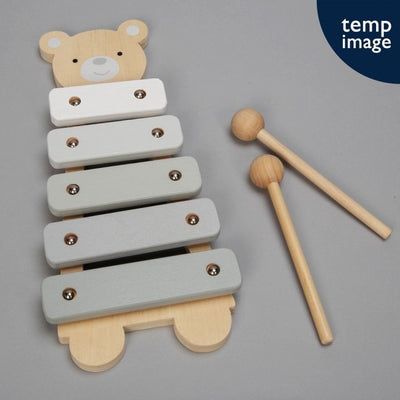 Wooden Teddy Bear Xylophone - Hetty's Baby Boutique