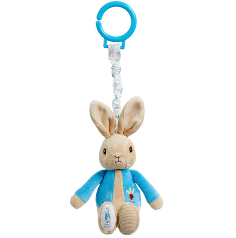 Peter Rabbit Jiggle Pull Toy Pink or Blue - Hetty's Baby Boutique