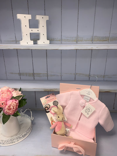 Baby Girl Pram Suit Gift Set - Hetty's Baby Boutique