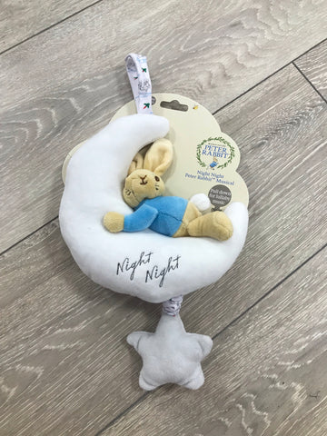 Peter Rabbit Night moon Musical Pull Toy - Hetty's Baby Boutique
