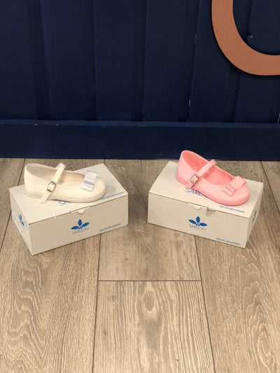"""Vicky"" Sardon Summer Shoes - Hetty's Baby Boutique"