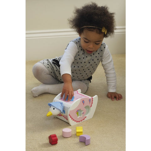 Jemima Shape Sorter - Hetty's Baby Boutique