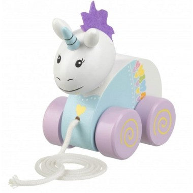 Wooden Unicorn Pull along - Hetty's Baby Boutique