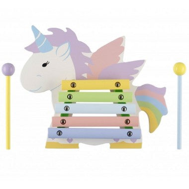 Wooden Unicorn Xylophone - Hetty's Baby Boutique