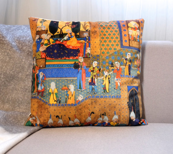 Sultana Pillow - Islamic Art Pillow