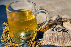 The antioxidants in tea will protect the structure of your skin by inhibiting the enzymes that break down collagen.
