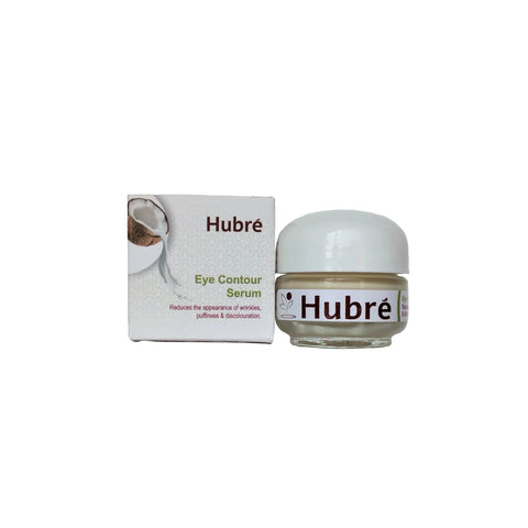 Hubré anti-age coconut water eye serum with peptides.