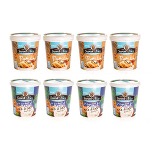 Mixed 8 Pack: Coconut + Rum and Raisin