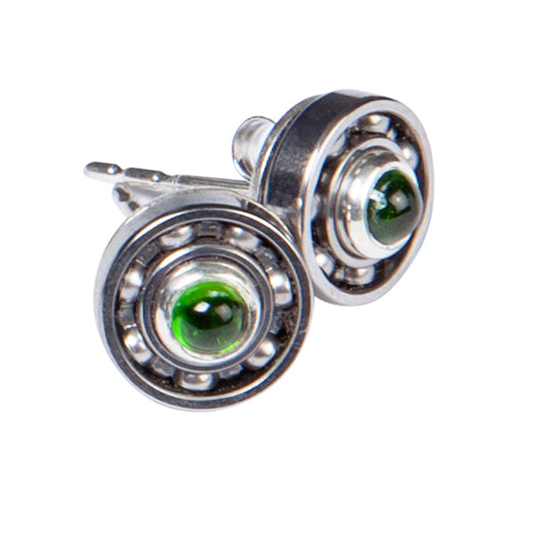Tourmaline Ball Bearing earrings