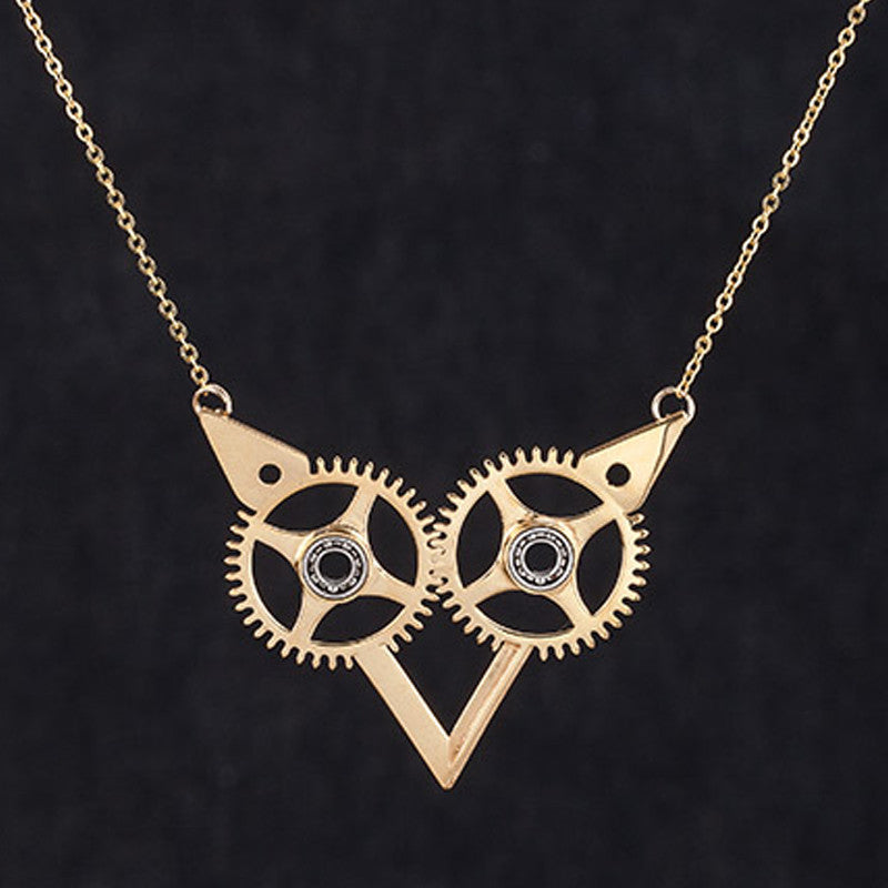 necklace jewelry women pendant shop watches womens retro gear powered industrial steam steampunk punk accessories womans