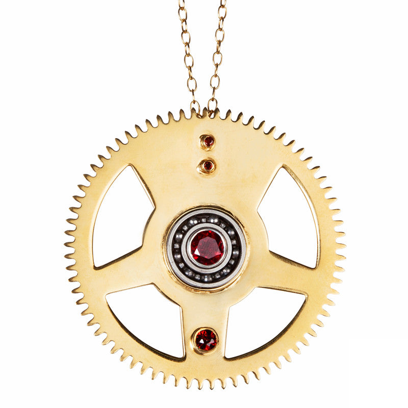 computergear amazon gears pendant com wooden steampunk necklace dp jewelry earrings kinetic apparel gear set moving accessories