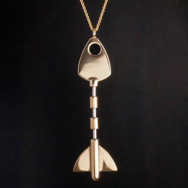 Fish key pendant