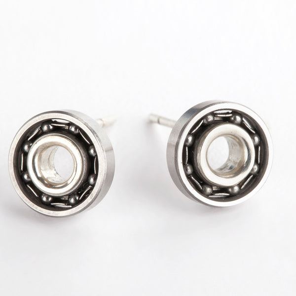 Center Hole Ball bearing earrings