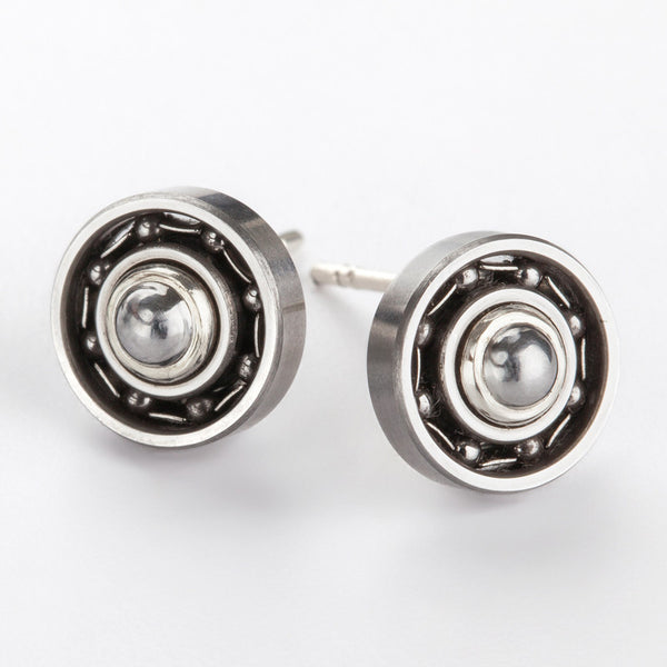 Sphere Ball Bearing earrings