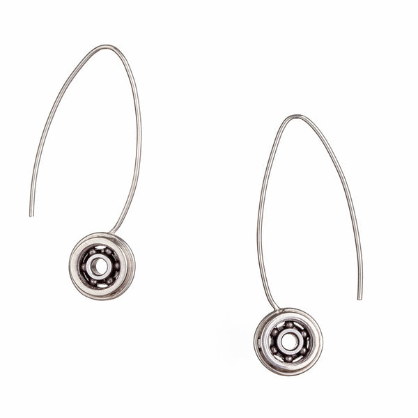 Long Ball Bearing earrings