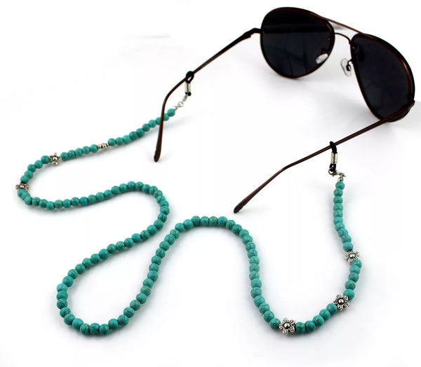 Stone Beads Sunglass Chain