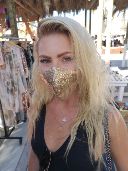 Sequins Face Masks