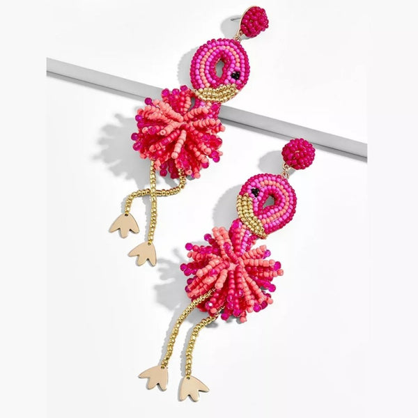 3D Beaded Earings