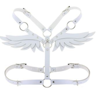 Pleather Wing Shoulder Harness