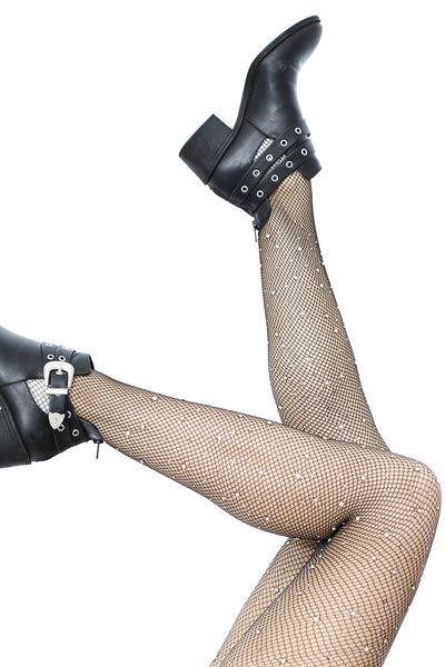 Gemstone Fishnet Stockings
