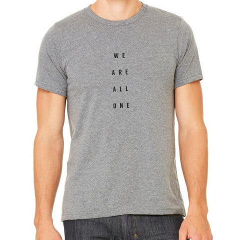 WE ARE ALL ONE UNISEX TEE