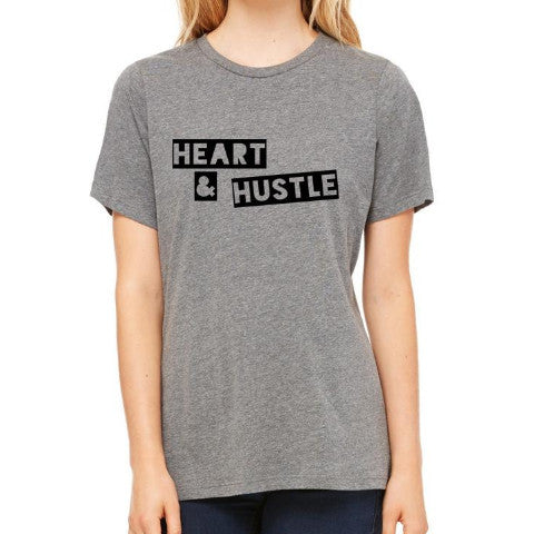 HEART & HUSTLE RELAXED CREW TEE