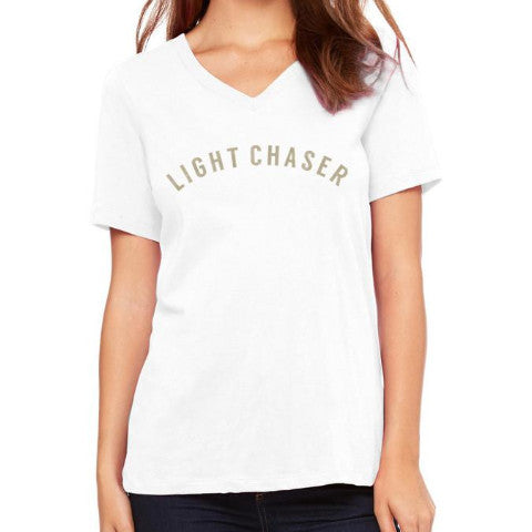 LIGHT CHASER RELAXED V TEE